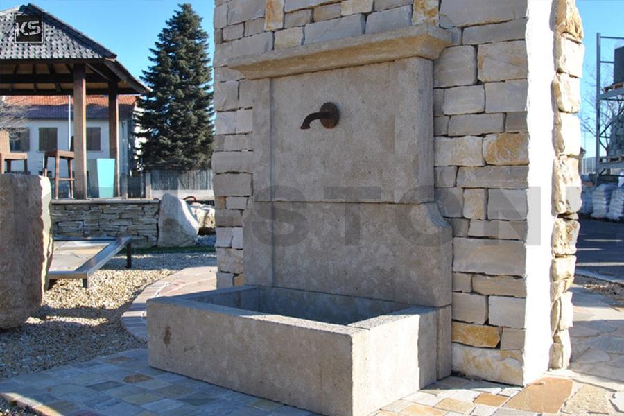 d coration jardin statue de pierre jarre fontaine en pierre. Black Bedroom Furniture Sets. Home Design Ideas