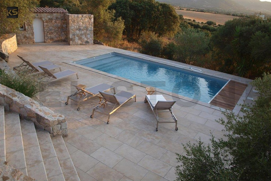 Dallage piscine elegant dallage piscine with dallage - Pierre naturelle pour piscine ...