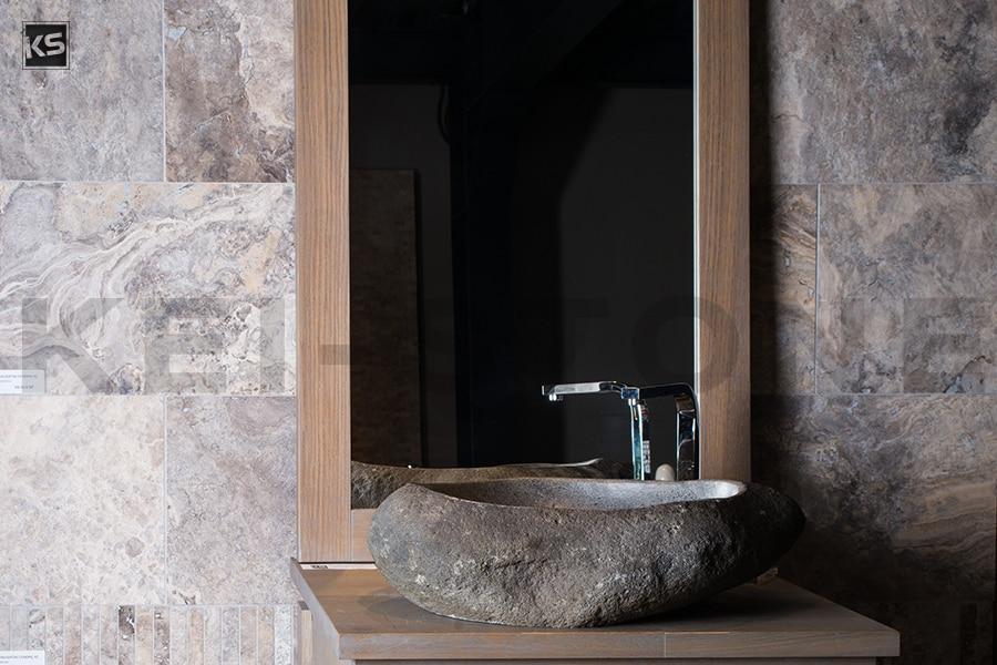 travertin cendr pierre naturelle grise pour dallage et sol. Black Bedroom Furniture Sets. Home Design Ideas