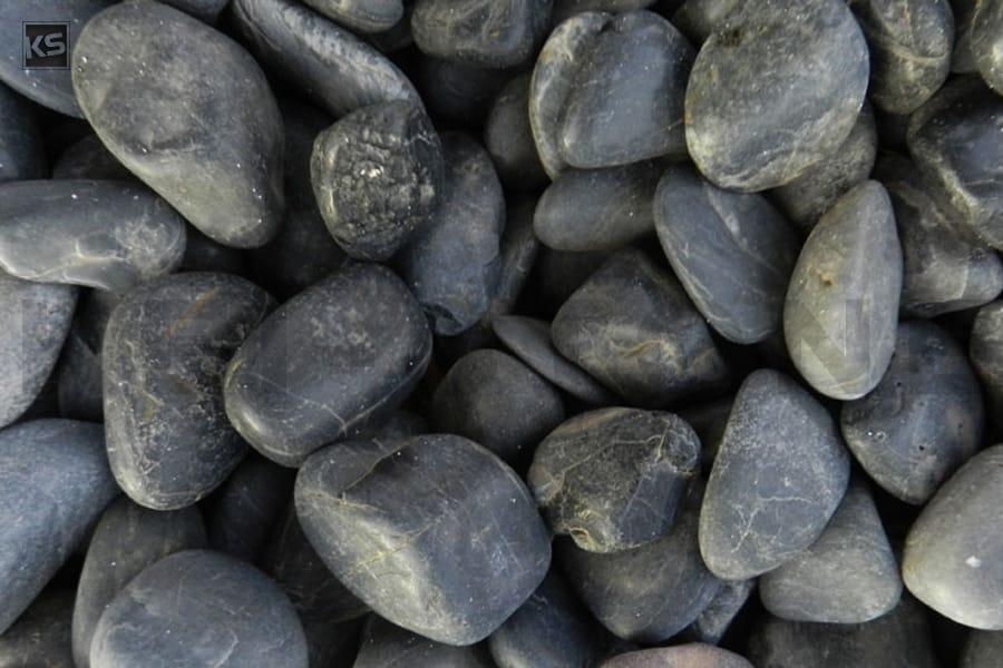 Galet marbre noir polis galets pour jardin ou all es for Gravier noir pour allee