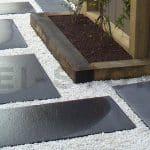 pas japonais pierre naturelle calcaire noire kei stone aix en provence pertuis lyon auxerre hossegor sarlat tours