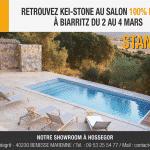 Kei-Stone sera présent au salon 100% Habitat de Biarritz du 2 au 4 mars