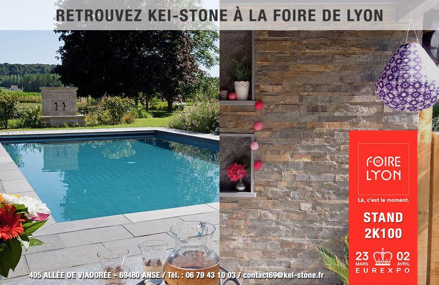 Kei-Stone se met aux couleurs de Londres à la Foire de Lyon du 23 mars au 4 avril