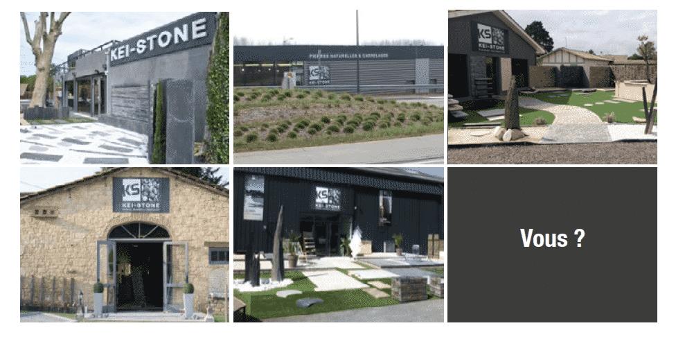 sept concessionnaires pierre naturelle kei-stone