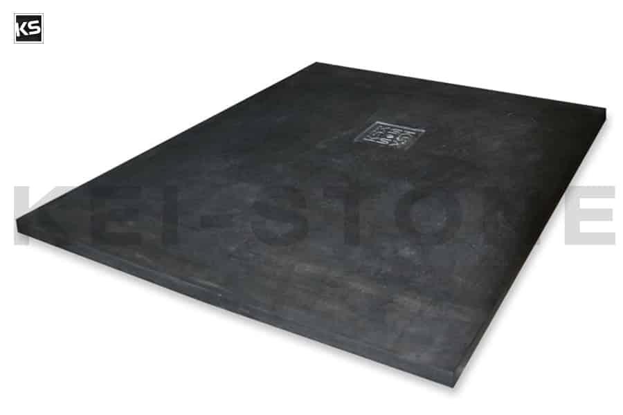bac douche extra plat en pierre naturelle travertin ou basalte. Black Bedroom Furniture Sets. Home Design Ideas
