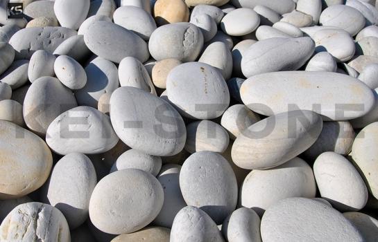 Gravillon, galet décoratif, galet blanc, cailloux blanc Kei-Stone