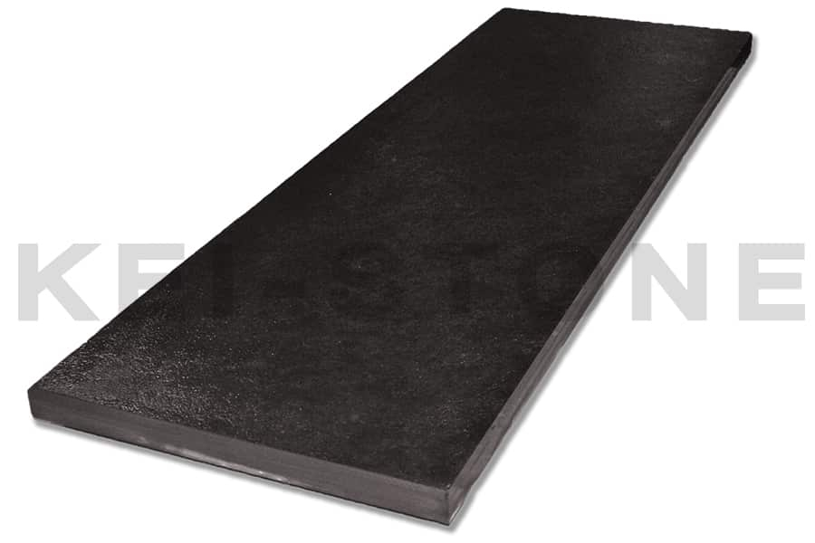 margelle en ardoise naturelle noire rio black pour sols ext rieurs. Black Bedroom Furniture Sets. Home Design Ideas