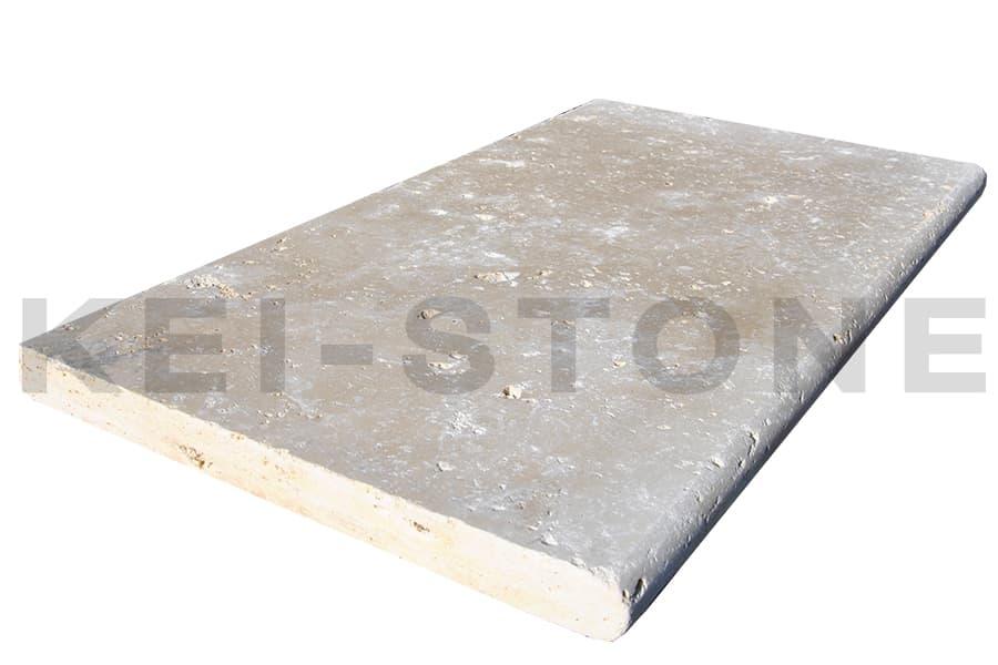 margelle travertin cannelle pierre naturelle beige kei stone aix en provence pertuis lyon auxerre hossegor sarlat tours