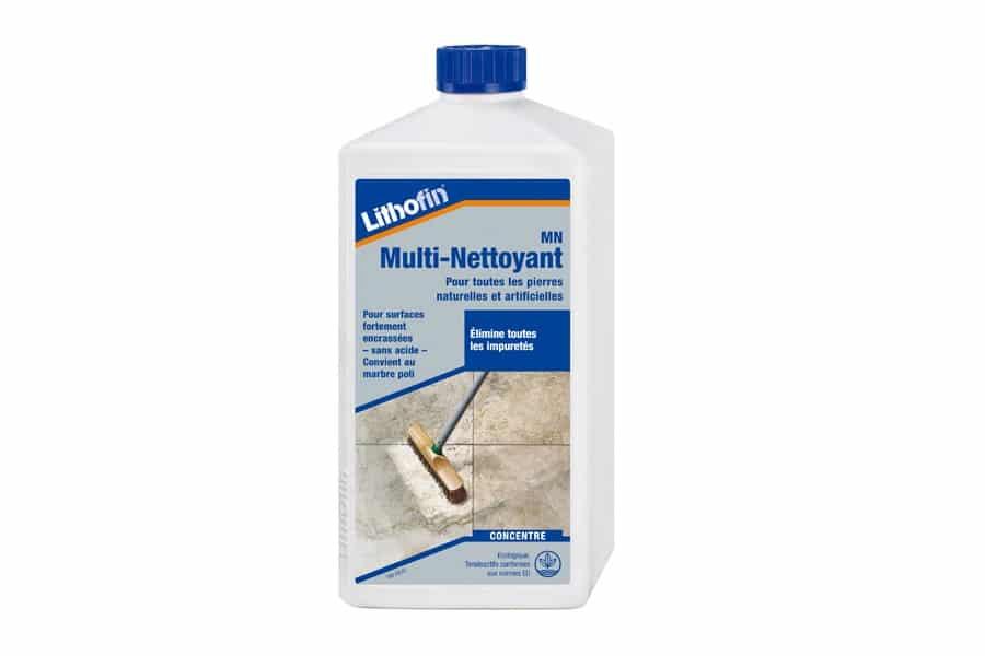 mn multi nettoyant lithofin produit d'entretien