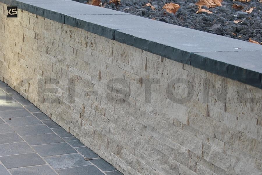 pierres naturelles de travertin en parement mural pr mont. Black Bedroom Furniture Sets. Home Design Ideas