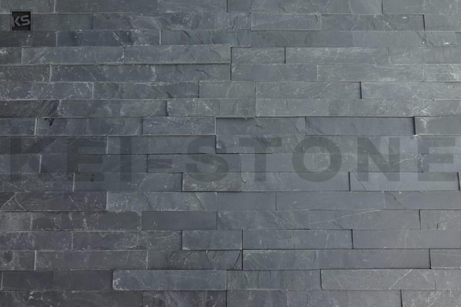 parement mural pierre naturelle noire easystone black kei stone aix en provence pertuis lyon auxerre hossegor sarlat tours