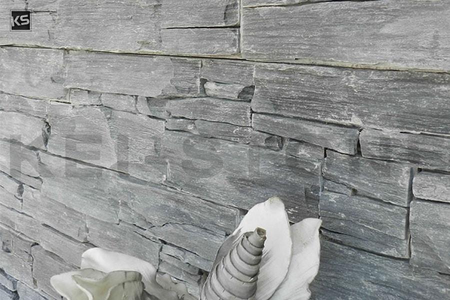 mur de parement en pierres naturelles noires wallstone black. Black Bedroom Furniture Sets. Home Design Ideas
