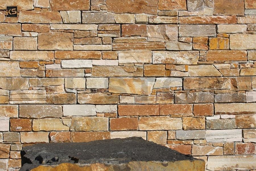 parement mural pierre naturelle jaune wallstone yellow kei stone aix en provence pertuis lyon auxerre hossegor sarlat tours