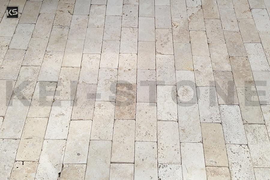 pavés travertin nuance pierre naturelle beige kei stone aix en provence pertuis lyon auxerre hossegor sarlat tours