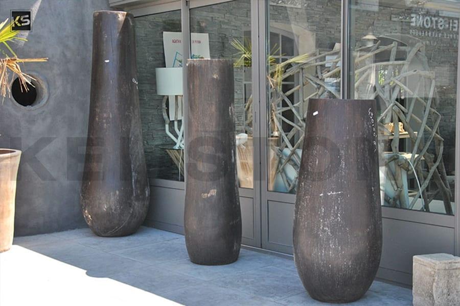 Pot en Cocotier en différentes tailles pour la décoration de ...