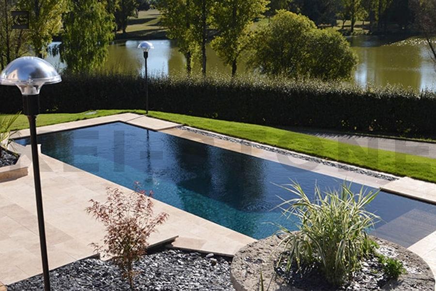 Travertin Pour Terrasse Et Sol Exterieur En Pierre Naturelle Nuance