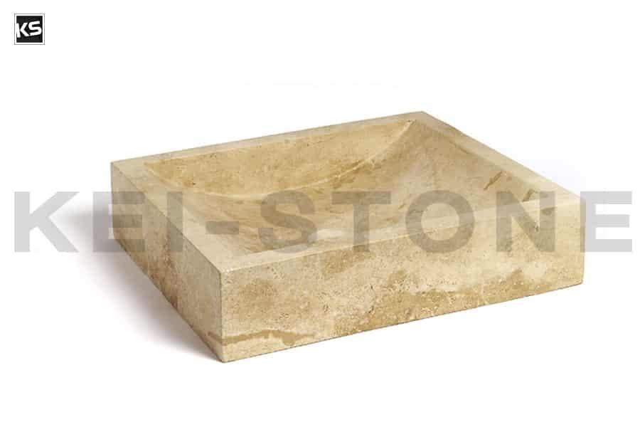 vasque tunis 45 pierre naturelle beige kei stone aix en provence pertuis lyon auxerre hossegor sarlat tours